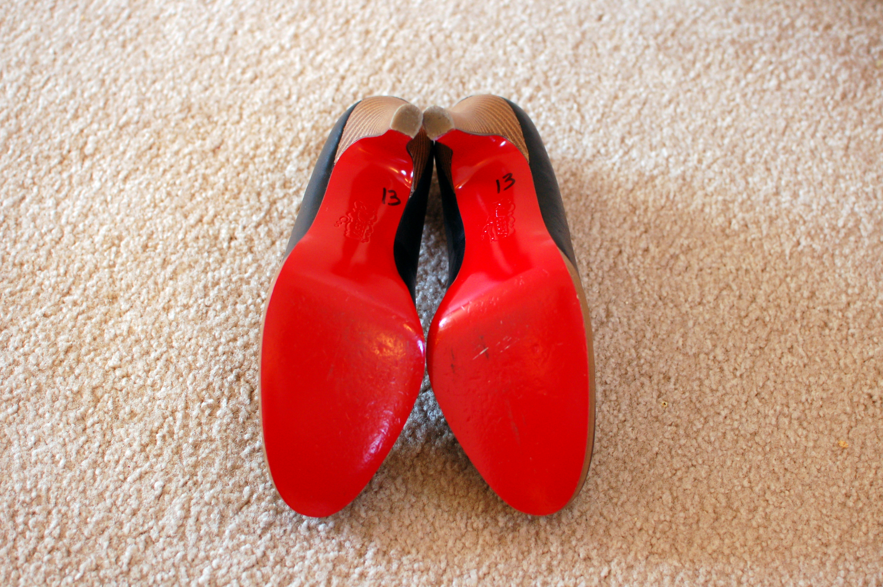 Oh\u2026Deer! Red Sole Shoes For Sale | She Found Style