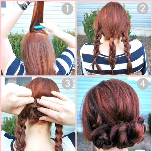 Fun And Easy Hairstyle Mini Buns She Found Style